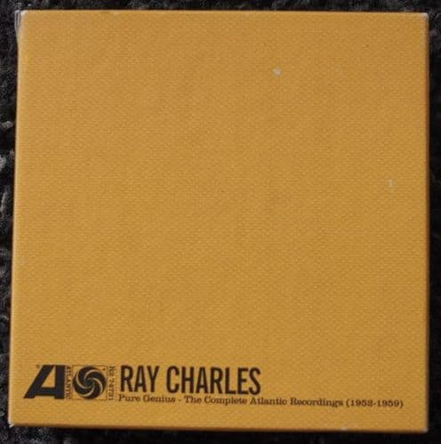 Ray Charles<br>Pure Genius - The Complete Atlantic Recordings (1952-1959)<br>7CD, Comp, RE, Boxset